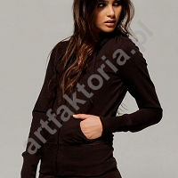 Bluza z kapturem FRENCH TERRY Bella 7207 kod 470.06
