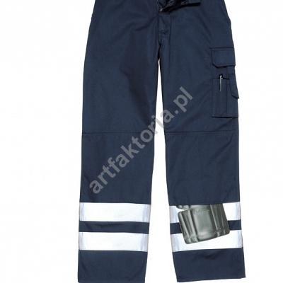 6bc89b73ca75c5 Spodnie Bojówki odblaskowe Portwest Iona S917 - Gadżety reklamowe, odzież  robocza, odzież reklamowa - Art Faktoria