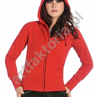 Bluza z kapturem na zamek HOODED Full Zip B&C kod 283.42